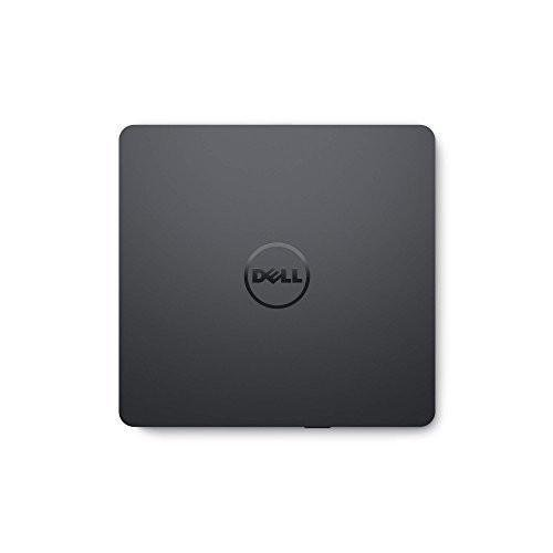 Dell USB Slim DVD Drive   External Optical Drive   Use At Home Or On The Go   USB 2.0 Interface   24x CD Read Speed   8x DVD Read Speed