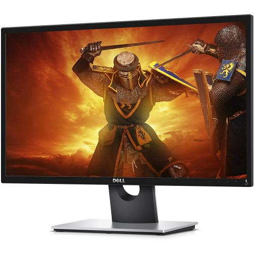 "Open Box: Dell 23.6"" Gaming Monitor Black - 1920 x 1080 Full HD Display - 60 Hz Refresh Rate - 2 ms Response Time - Twisted Nematic Panel - Dual HDMI Ports"