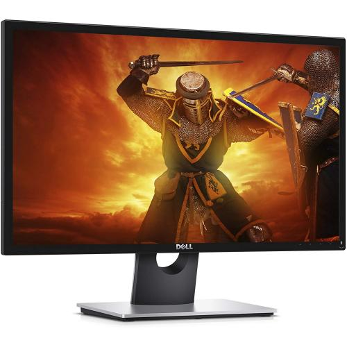 "Open Box: Dell 23.6"" Gaming Monitor Black   1920 X 1080 Full HD Display   60 Hz Refresh Rate   2 Ms Response Time   Twisted Nematic Panel   Dual HDMI Ports"