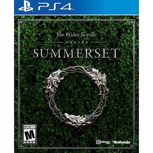 The Elder Scrolls Online: Summerset for PS4 - PlayStation 4 - Role Playing Game - Rated M (Mature 17+) - Multiplayer Supported - PlayStation Plus Online Membership Required