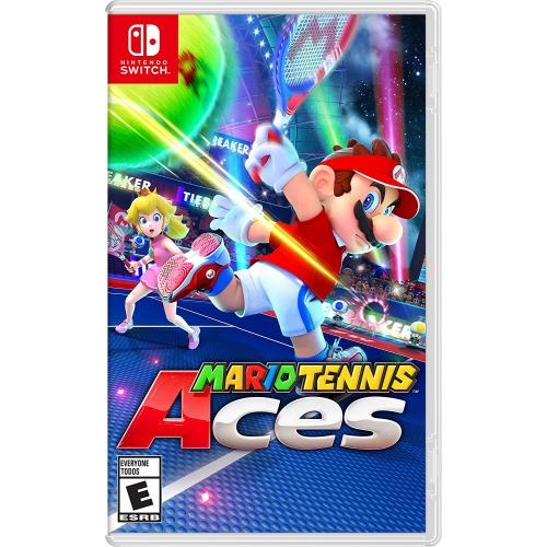 Mario Tennis Aces Nintendo Switch - For Nintendo Switch - ESRB rated E - Sports Game - Up your game w/ Zone Speed & Zone Shot - Unleash an arsenal of shots & strategies in all-out tennis battles