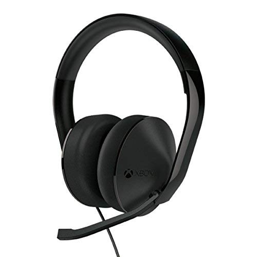 Xbox One CHAT Headset Black  -  Detachable adapter included - Unidirectional microphone - Easy to set up - Full range audio spectrum