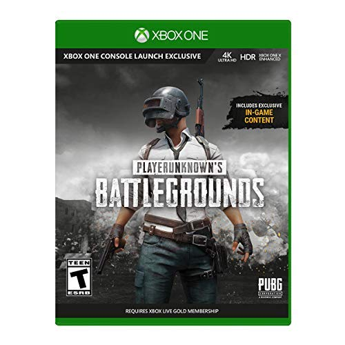 PLAYERUNKNOWN'S BATTLEGROUNDS Xbox One - Xbox One supported - ESRB Rated Teen 13+ - Survival Shooter Action/Adventure Game - Product Release includes 3 maps - In-Depth Loot System - Go Solo or Squad Up