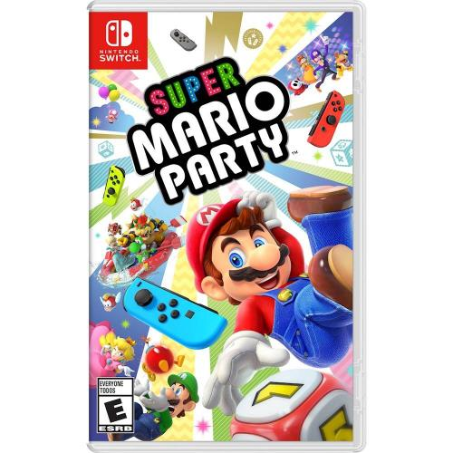 Super Mario Party Nintendo Switch - For Nintendo Switch - ESRB Rated E (Everyone) - Pair 2 Nintendo Switch systems - 80 minigames packed w/ challenges