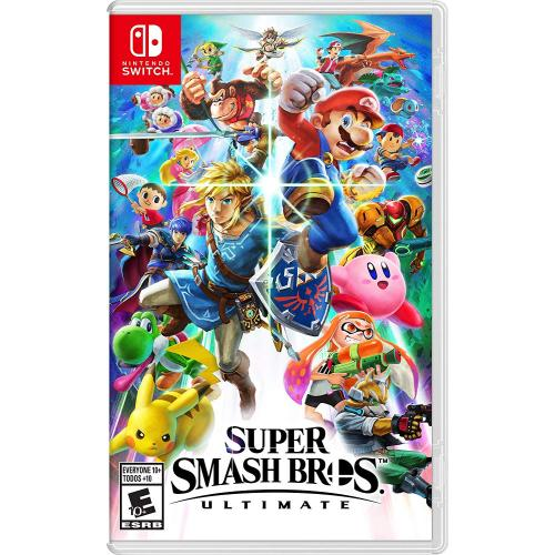 Super Smash Bros. Ultimate Nintendo Switch - Nintendo Switch Supported - ESRB Rated E10+ - Fighting Game - Multiplayer Supported - Choose your favorite fighter!