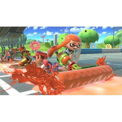 Super Smash Bros. Ultimate Nintendo Switch   Nintendo Switch Supported   ESRB Rated E10+   Fighting Game   Multiplayer Supported   Choose Your Favorite Fighter!