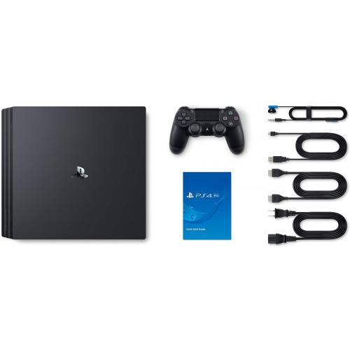 PlayStation 4 Pro 1TB Console Black   Black Wireless Controller Included   Black PS4 Console Included   8GB RAM 1TB HDD   Native 4K On Pro   Dynamic 4K Gaming   Play Boost Mode For Increased Power Of PS4 Pro