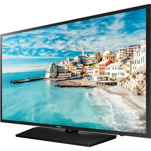 """Samsung 477 Series 32"""" Non Smart Hospitality LCD TV   Equipped W/ Pro: Idiom MPEG4 Technology   Samsung LYNK REACH 4.0 Technology For Hotels   Swivel Stand Rotates Up To 90 Degrees In Both Directions   Direct Lit LED Technology"""
