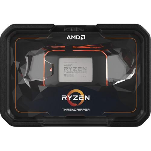 AMD Ryzen Threadripper 2970WX Processor - 24 Cores & 48 Threads - 3.5 GHz- 4.2 GHz CPU Speed - 64 MB L3 Cache - sTR4 Processor Socket - Quad Channel Architecture