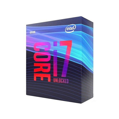 Intel Core i7-9700K Desktop Processor - 8 cores & 8 threads - Up to 4.9 GHz CPU Speed - LGA1151 300 Series - Intel UHD Graphics 630 - Intel Optane Memory Supported