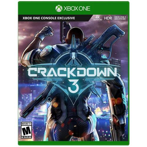 Crackdown 3 Xbox One - Xbox One supported - ESRB Rated Mature (17+) - Action/Adventure game - Solo or co-op player mode - All new Multiplayer Wrecking Zone - Dangerous Open-World Playground