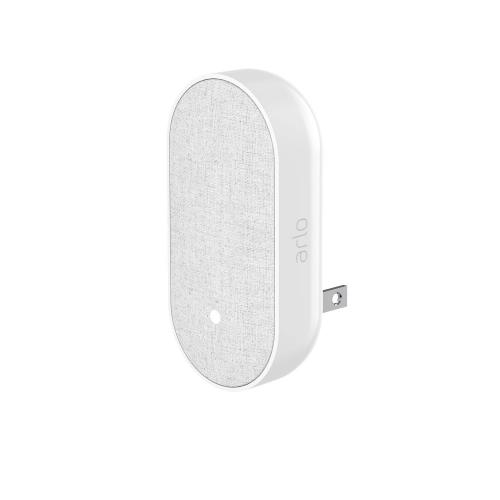 Arlo Chime White - Add-on to Arlo Audio Doorbell - Instant Arlo alerts - Smart Siren - Adjustable volume and sounds - Requires existing Arlo Base Station and Arlo Doorbell