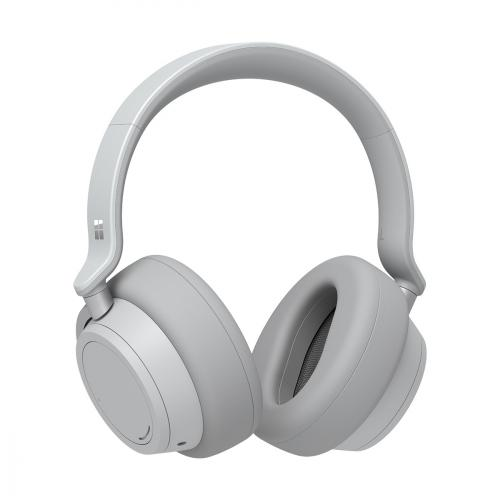Microsoft Surface Headphones Light Gray - Wireless/ Wired - Bluetooth 4.2 - Cortana Assistant - On-ear touch controls - 15hr battery life