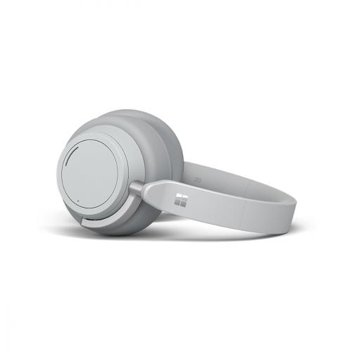 Microsoft Surface Headphones Light Gray   Wireless/ Wired   Bluetooth 4.2   Cortana Assistant   On Ear Touch Controls   15hr Battery Life