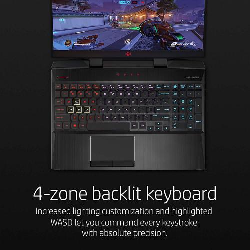 "HP OMEN 15.6"" Gaming Laptop 144Hz I7 8750H 16GB RAM 1TB HDD 128GB SSD RTX 2070 8GB Max Q"