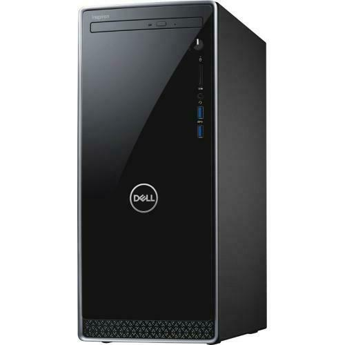 Dell 3670 Inspiron Desktop Intel Core I7 12GB RAM 1TB HD Black   8th Gen I7 8700   NVIDIA GeForce GT 1030 2GB   Dell KB216 Wired Black Keyboard Included   Dell MS116 Wired Black Mouse Included   5 In 1 Media Card Reader   Windows 10 Home