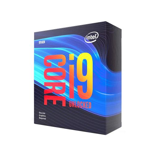 Intel Core i9-9900KF Desktop Processor - 8 cores & 16 threads - Up to 5 GHz Turbo Speed - Socket H4 LGA-1151 - Discrete GPU - Intel Optane Memory Ready - Compatible w/ Motherboards w/ Intel 300 Series Chipsets