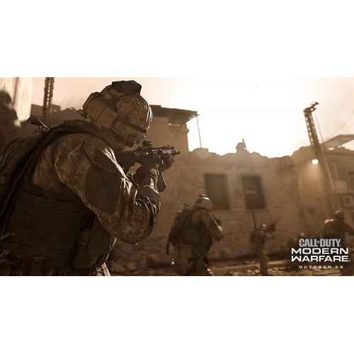 Call Of Duty: Modern Warfare PlayStation 4   PS4 Supported   ESRB Rated M (Mature 17+)   First Person Shooter   Multiplayer Supported