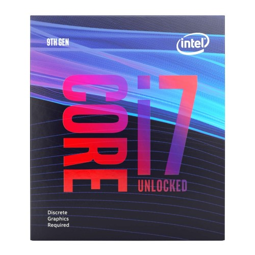 Intel Core i7-9700KF Desktop Processor - 8 cores & 8 threads - Up to 4.9 GHz Turbo Speed - 12 MB Intel Smart Cache - Compatible w/ Motherboards w/ Intel 300 Series Chipsets - Intel Optane Memory Ready
