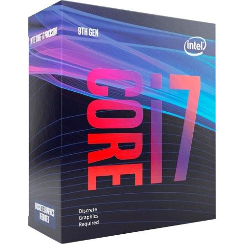 Intel Core I7 9700F Desktop Processor   8 Cores & 8 Threads   Up To 4.7 GHz CPU Speed   LGA1151 300 Series   Discrete Graphics Required   12MB Smart Cache