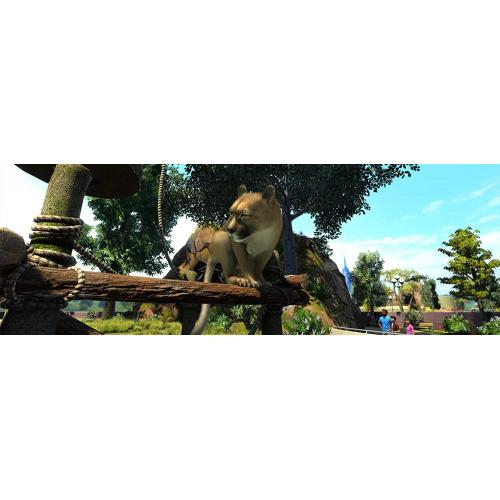 Zoo Tycoon: Ultimate Animal Collection (Digital Download)   For Xbox One & Windows 10 PC   Full Game Download Included   ESRB Rated E (Everyone)   Single Player & Co Op Supported   Simulation Game