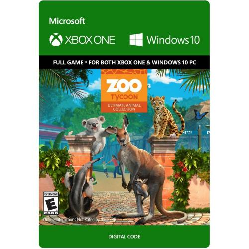 Zoo Tycoon: Ultimate Animal Collection (Digital Download) - For Xbox One & Windows 10 PC - Full game download included - ESRB Rated E (Everyone) - Single Player & Co-op Supported - Simulation Game