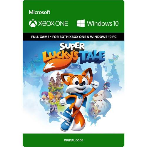 Super Lucky's Tale (Digital Download) - For Xbox One and & Windows 10 PC - Full game download included - ESRB Rated E (Everyone 10+) - Face unpredictable challenges - Supports Xbox Play anywhere