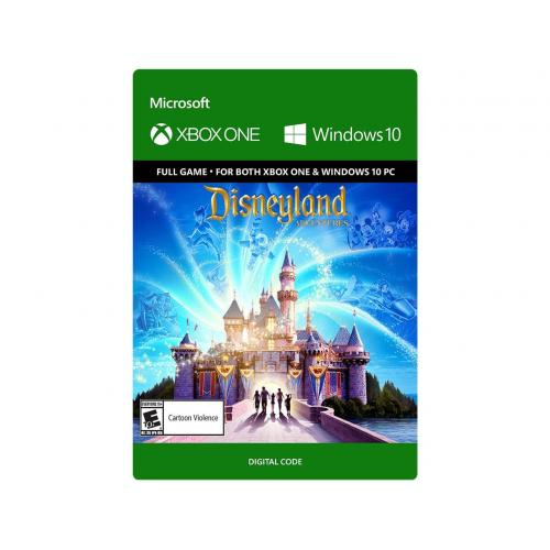 Disneyland Adventures (Digital Download) - For Xbox One & Windows 10 PC - Full game download included - ESRB Rated E10+ (Everyone 10+) - Single Player Supported - Xbox Live local Co-op (2)