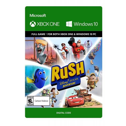 Rush: A Disney Pixar Adventure (Digital Download) - For Xbox One & Windows 10 PC - Full game download included - ESRB Rated E (Everyone 10+) - Experience Co-Op Play