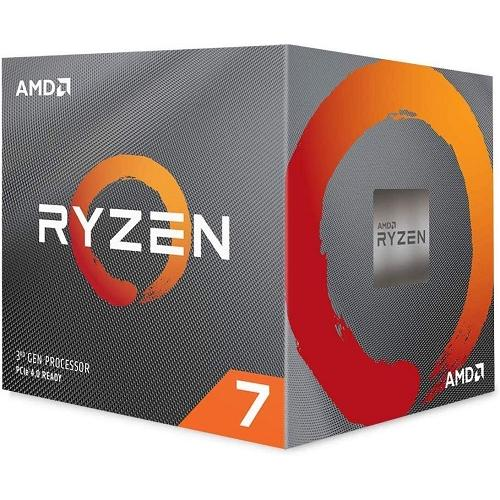 AMD Ryzen 7 3700X Unlocked Desktop Processor w/ Wraith Prism LED Cooler - 8 cores & 16 threads - 3.6 GHz- 4.4 GHz CPU Speed - 7nm Process Technology - 32MB L3 Cache - Socket AM4 Processor