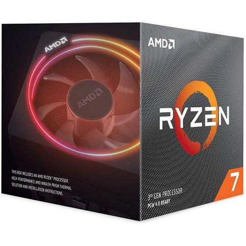 AMD Ryzen 7 3700X Unlocked Desktop Processor W/ Wraith Prism LED Cooler   8 Cores & 16 Threads   3.6 GHz  4.4 GHz CPU Speed   7nm Process Technology   32MB L3 Cache   Socket AM4 Processor