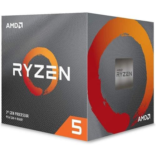 AMD Ryzen 5 3600X Unlocked Desktop Processor w/ Wraith Spire Cooler - 6 cores & 12 threads - 3.8 GHz- 4.4 GHz CPU Speed - 32MB L3 Cache - 7nm Process Technology - Socket AM4 Processor