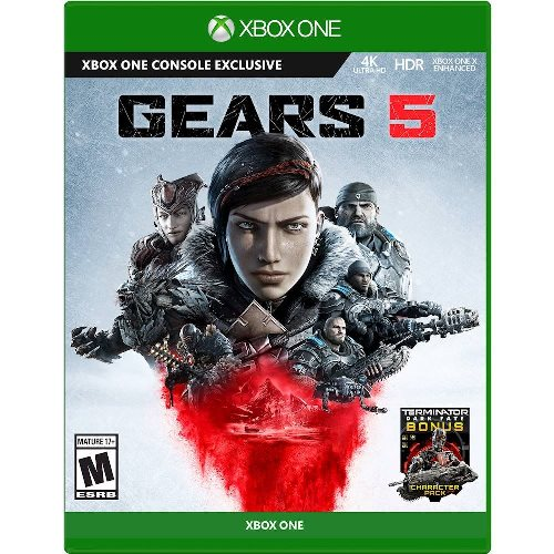 Gears 5 Standard Edition Xbox One - Xbox One Console exclusive - ESRB Rated Mature (17+) - Action/Adventure game - Delivers brutal action across 5 modes - Multiplayer Supported