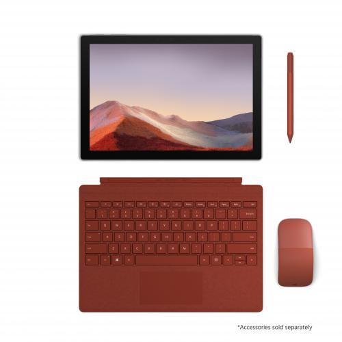 "Microsoft Surface Pro 7 12.3"" Intel Core I3 4GB RAM 128GB SSD Platinum   10th Gen I3 1005G1 Dual Core   Laptop, Tablet, Or Studio Mode   Intel UHD Graphics   Windows 10 Home   10.5 Hr Battery Life"
