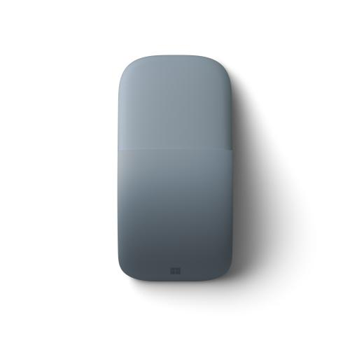 Microsoft Surface Arc Touch Mouse Ice Blue   Wireless   Bluetooth Connectivity   Ultra Slim & Lightweight   Innovative Full Scroll Plane