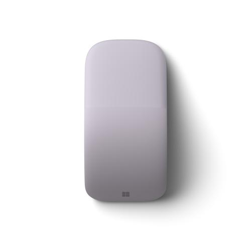 Microsoft Arc Mouse Lilac   Wireless   Bluetooth Low Energy   BlueTrack Enabled   Tilt Wheel   Up To 6 Months Battery Life