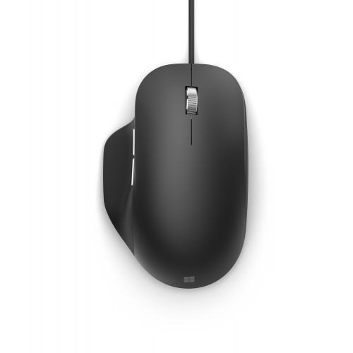 Microsoft Ergonomic Mouse Black   BlueTrack   Cable   USB 2.0 Type A   1000 Dpi   Scroll Wheel   5 Button(s)