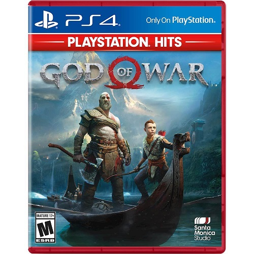 God of War PlayStation Hits - For PlayStation 4 - Action/Adventure Game - Rated M (Mature 17+) - Vicious, Physical Comabt - Darker, more Elemental World