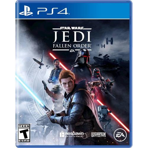 Star Wars: Jedi Fallen Order PlayStation 4 - PS4 Supported - ESRB Rated T (Teen 13+) - Action/Adventure Game - Online Multiplayer Supported - Embrace the Force