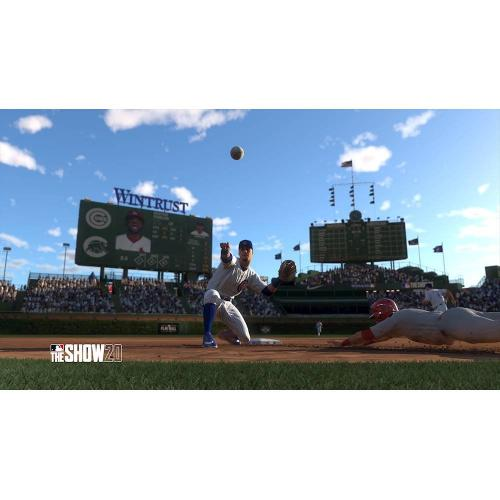 MLB The Show 20 For PS4   PS4 Exclusive   ESRB Rated E (Everyone)   Max Number Of Multi Players: 8   Sports Game   Releases 3/17/2020