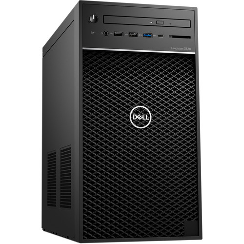 Dell Precision 3630 Tower Workstation Intel Core i7 16GB RAM 256GB SSD - Intel Core i7-9700 Octa-core - NVIDIA Quadro P2200 5GB GDDR5X - 3 GHz- 4.7 GHz CPU Speed - Dell KB216 Wired Keyboard & Mouse included - Windows 10 Pro
