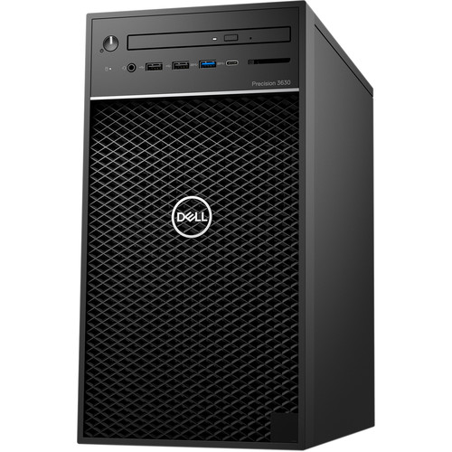 Dell Precision 3630 Tower Workstation Intel Core I7 16GB RAM 256GB SSD   Intel Core I7 9700 Octa Core   NVIDIA Quadro P2200 5GB GDDR5X   3 GHz  4.7 GHz CPU Speed   Dell KB216 Wired Keyboard & Mouse Included   Windows 10 Pro