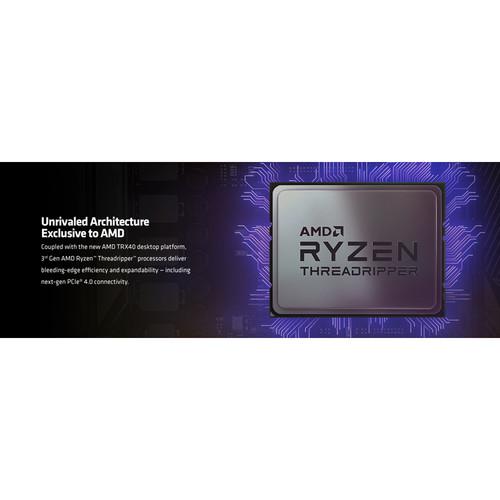AMD Ryzen Threadripper 3970X Unlocked Desktop Processor   32 Cores & 64 Threads   3.7 GHz  4.5 GHz CPU Speed   128 MB L3 Cache   PCIe 4.0 Ready   NVMe RAID Support