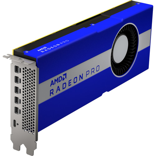 AMD Radeon Pro W5700 Graphics Card - 2304 Stream Processors - 8GB of GDDR6 VRAM - 7nm RDNA Architecture - 256-Bit Memory Interface - 8.89 Teraflops