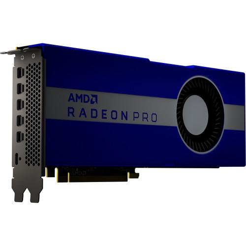 AMD Radeon Pro W5700 Graphics Card   2304 Stream Processors   8GB Of GDDR6 VRAM   7nm RDNA Architecture   256 Bit Memory Interface   8.89 Teraflops