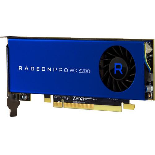 AMD Radeon Pro WX 3200 Graphic Card - 4 GB GDDR5 VRAM - 1.25 to 1.30 GHz Core - 640 Stream Processors - 128 bit Bus Width - Polaris Architecture