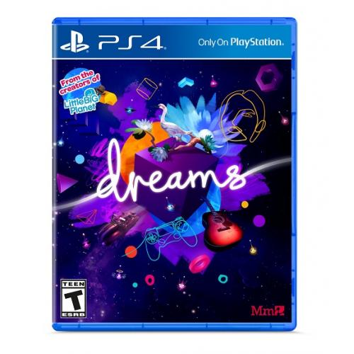 Dreams Standard Edition PS4 - PlayStation 4 - ESRB Rated T (Teen 13+) - Adventure Game - Create/Sandbox Game - Release Date February 14, 2020