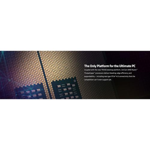 AMD Ryzen Threadripper 3990X Unlocked Desktop Processor   64 Cores & 128 Threads   2.9 GHz  4.3 GHz CPU Speed   256 MB L3 Cache   PCIe 4.0 Ready   NVMe RAID Support