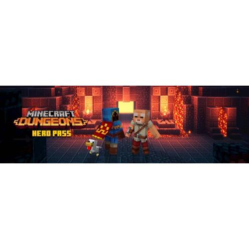 Minecraft Dungeons Hero Edition Xbox One (Digital Download)   For Xbox One  Email Delivery   ESRB Rated E10+   Action/Adventure Game   Multiplayer Supported   Releases 5/26/2020