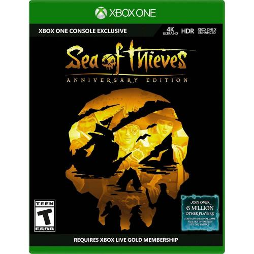 Sea of Thieves: Anniversary Edition Xbox One - Xbox One Exclusive - ESRB Rated T (Teen 13+) - Action/Adventure Game - Multiplayer Supported - Anniversary Edition